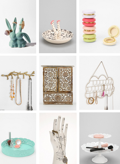 Urban Outfitters Jewelry Organizers Lilly Grant